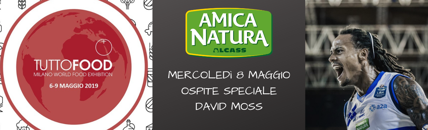 DAVID MOSS OSPITE SPECIALE A TUTTOFOOD!