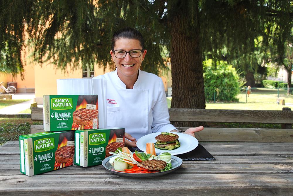 Hamburger Extragusto, il piatto estivo firmato Francesca Marsetti Chef!