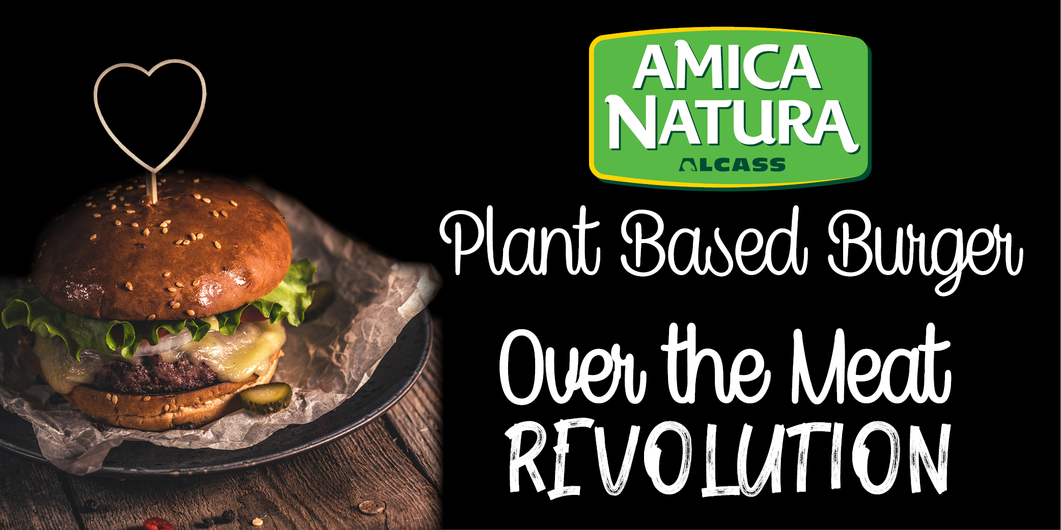 plant based burger, la rivoluzione made in italy